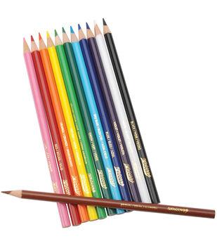 Prang Thick Core Colored Pencil Set 12Pk