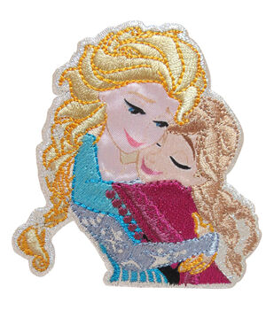 Wrights Disney Sisters Frozen Iron-On Applique
