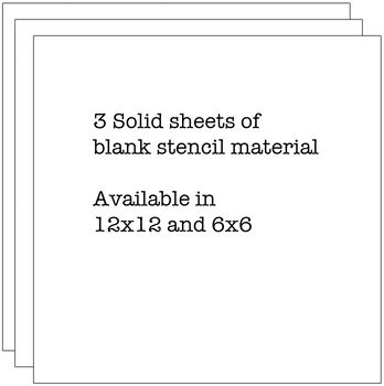 Crafter's Workshop Templates Stencil Sheets 12'' x 12''