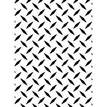 Darice Embossing Folder Diamond Plate