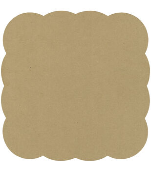 Adorn-It Art Play Bubble Square MDF Shaped Surface 10''