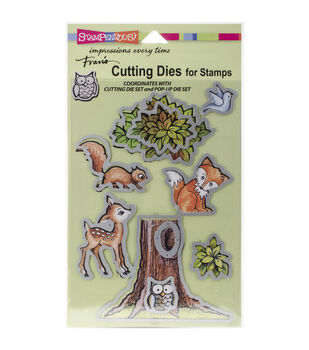 Stampendous Forest Pop Up Die Set