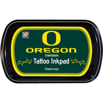Clearsnap Colobox Licensed Temporary Tattoo Inkpad University Of Oregon