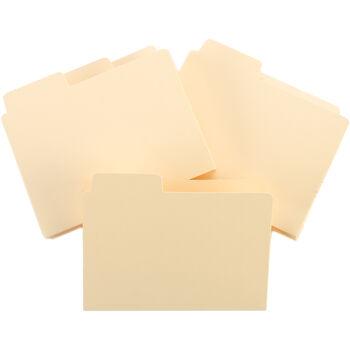 """ATC Tabbed File Folders 3""""X3.75"""" 12/Pkg-"""
