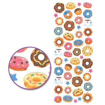 Multicraft Glitter Stickers Donuts Anyone?