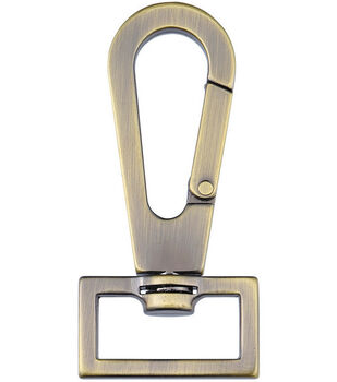 Nancy Zieman's Bag Hardware 1'' Swivel Latch 1/pkg-Satin Bronze