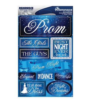 Reminisce Signature Dimensional Stickers Prom