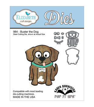 Elizabeth Craft Designs Pop It Up Duster The Dog Metal Dies