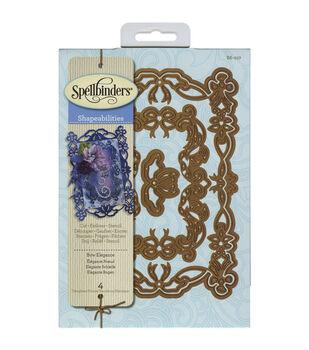 Spellbinders Shapeabilities Bow Elegance Dies