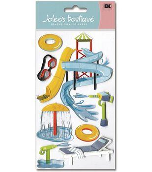 Jolee's Boutique Le Grande Dimensional Stickers-Water Park