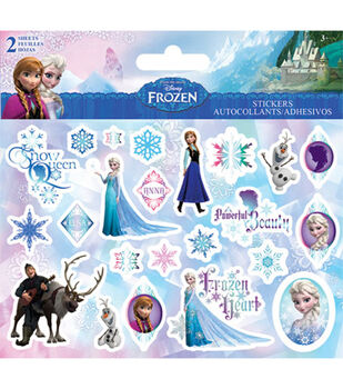 Sandylion Disney Stickers 2 Sheets-Frozen