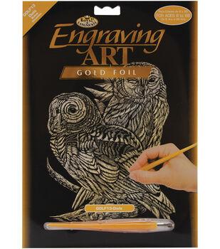 Royal Brush Gold Foil Engraving Art Kit