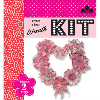 Craftwork Cards Create A Wreath Kit Red Carpet