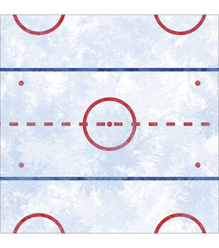 """Hockey Ice - Hockey Paper 12""""x12"""""""