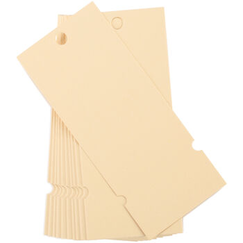 """Naked Tags 2""""X4.75"""" 20/Pkg-"""