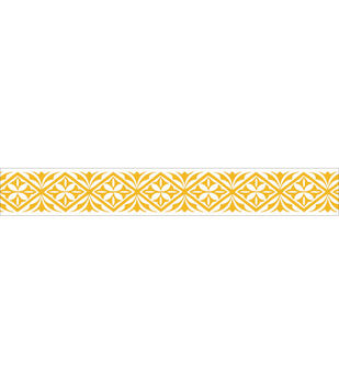 "Kaisercraft Printed Tape .5""X16.5'-Ornate"