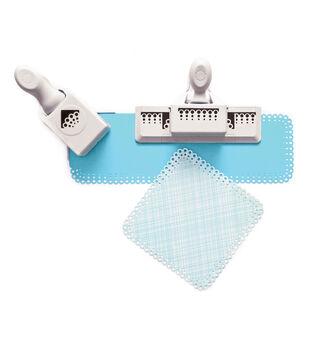 Martha Stewart Crafts-Scallop 3 Dot Set