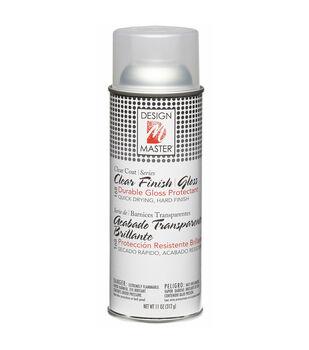 Home Decor Finish Aerosol Spray 12 Ounces-Clear Gloss