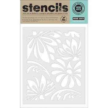 Hero Arts Stencils-Large Lotus Pattern