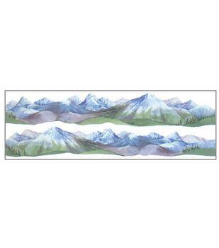 Horizon Border Stickers 2/PK-Mountains