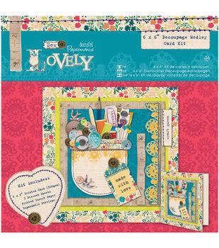 Dec Medley-sew Lovely Card Kit