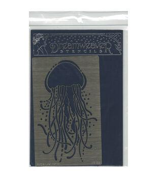 Stampendous Dreamweaver Metal Jellyfish Stencil