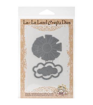 La-La Land Crafts Stitched Sun And Clouds Dies