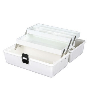 ArtBin White 2 Tray Box