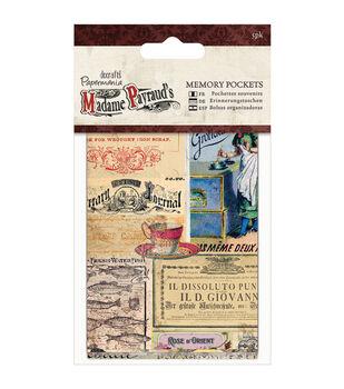 papermania Madame Payraud Memory Pockets 5/Pkg-