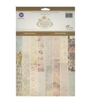 Prima Marketing Princess Paper Pad 12.25''x8.25''