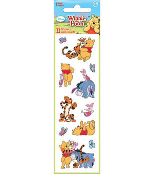 Pooh Adventure Sticker