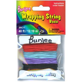Bungee Wrap String Purple / Dark Blue/. Black