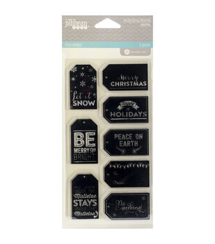 Hampton Art Holly Berry Borscht Clear Tags Stamps