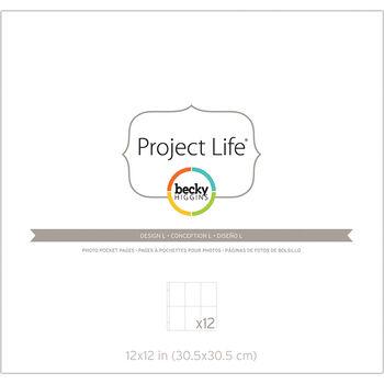 Project Life Page Protectors 12/Pkg-Design L