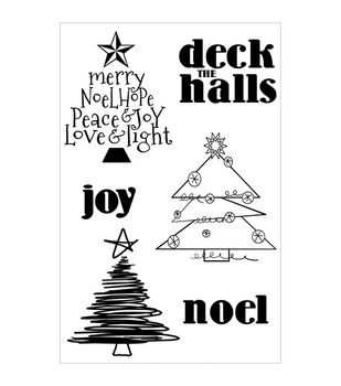 WOW! Clear Stamp Set-Deck The Halls