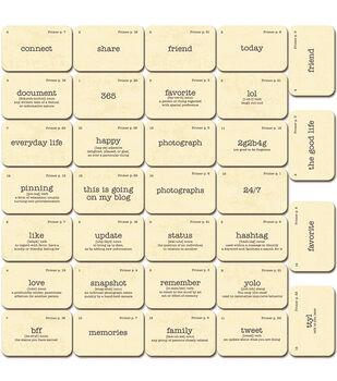 Jillibean Soup Flashcards - Spicy Social Diecuts
