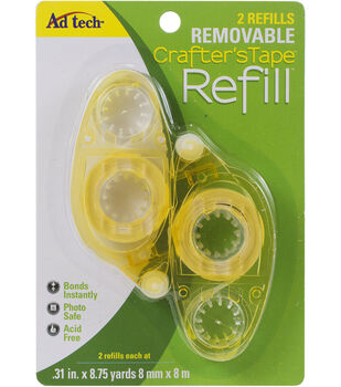 Crafters Tape Remove Glue Refill