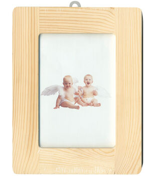 "Natural Pine Photo Frame-7.25""X9.5"""