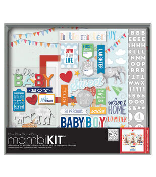 Me & My Big Ideas Cool Baby Boy Boxed Album Kit