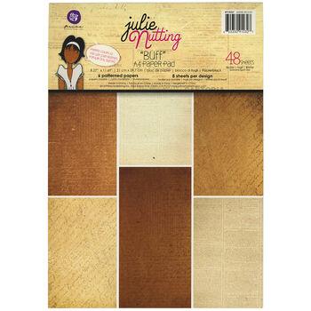 Prima Marketing Julie Nutting Buff Single-Sided Paper Pad
