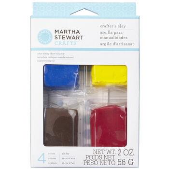 Martha Stewart Basic Color Clay Set-2oz