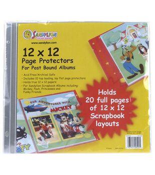 Sandylion Page Protectors 12''X12''