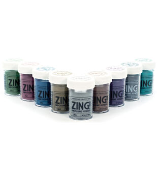 American Crafts Zing! Mettalic Embossing Powder-1 oz.