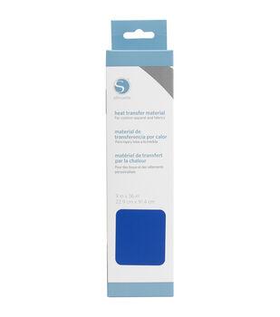 "Silhouette Smooth Heat Transfer Material 9""X36""-Dark Blue"