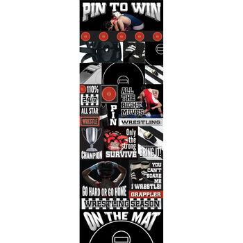 Wrestl Gra-real Sport Stickers