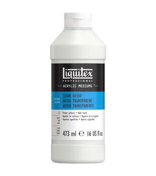 Liquitex Acrylic Clear Gesso Surface Prep-16 Ounces
