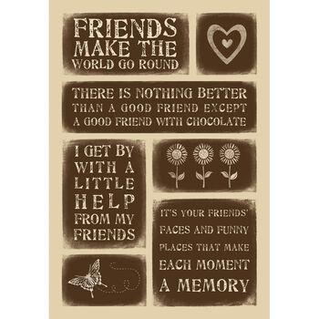Momenta Weathered Stickers Sheet Friend