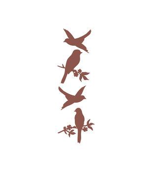 Birds Wood Embellishments
