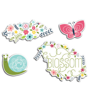 Imaginisce Blossom - Welcome Spring Cardstock Die Cuts