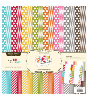 Simple Stories Snap! Color Vibe Collection Kit
